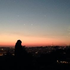 Time Lapse of the sunset over Rome