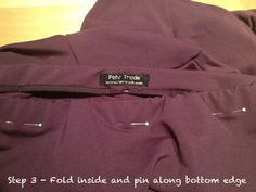 Fehr Trade: A better elastic waistband finish - tutorial