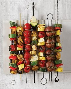 Our guide to the best grilled vegetables will keep you fired up all summer long. Just pick your veggie -- or make mix-and-match kebabs -- and master a few basic techniques. Always heat the grill to precisely the recommended temperature and use skewers to keep small or narrow veggies from falling into the fire (wooden ones should be soaked in water for 30 minutes beforehand so they don't burn). Finally, if you'd like to add restaurant-worthy crosshatch marks, wait until the grate leaves a…