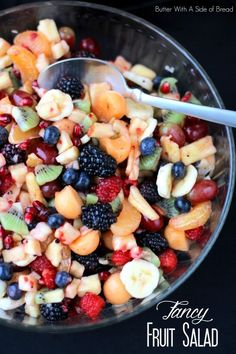 FANCY FRUIT SALAD: Butter With A Side of Bread