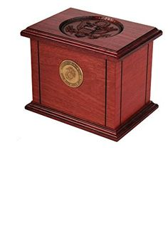 Star Legacy's Patriot Mahogony Wood Adult Military Cremation Urn for Human Ashes - United States Air Force ** You can get more details by clicking on the image.