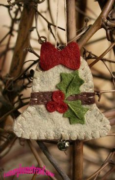 36+Creative+Felt+Ornaments+For+Christmas+Tree