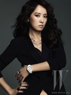 Kim Sun Ah for Emporio Armani's Fall/Winter Watch Collection