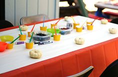Birthday Party Stations for kids