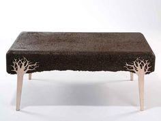 Shavings by Yoav Avinoam Photo - wood saw dust furniture.
