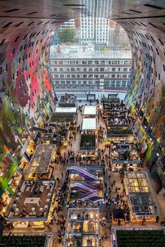 De markthal Rotterdam , South Holland, the Netherlands
