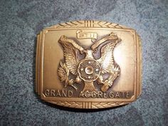 U.S. Revolver Association Belt Buckle Circa by TheEclecTiqueRaven