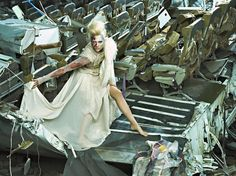'America's Next Top Model: College Edition' Zombie photo shoot