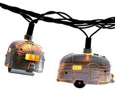 #Airstream Lights #decoratingtips #RV