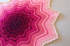 Ravelry: Rainbow Ripple Baby Blanket free pattern This can be altered by varying the colors as you wish!