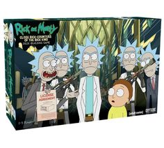 Rick And Morty: Close Rick-Counters Of The Rick Kind Deck-Building Game, , hi-res Ricky And Morty, Rick Y Morty, Cool Deck, Diy Deck, Building Games, Building A Deck, Building Plans, Laying Decking, Deck Construction