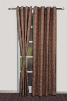 Set Of 2 Long Door Curtain