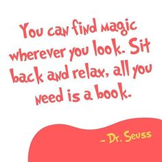 Dr. Seuss knows what's up