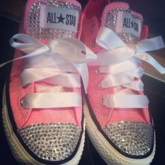 This would be a cute idea for wedding shoes