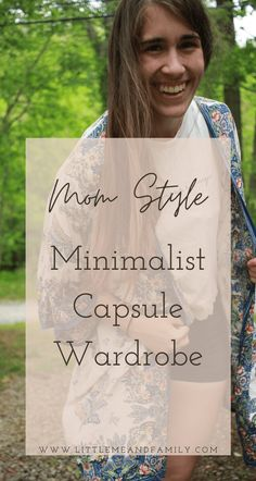 Little Me + Family Mom Style Minimalist Capsule Wardrobe | Full Time RV Traveling Family Intentional living. ethical fashion Minimalist Wardrobe, Minimalist Fashion, Minimalist Living, Capsule Wardrobe Work, Ethical Fashion Brands, Minimalist Lifestyle, Style Challenge, Little My, Mom Style