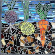 Vegetable Garden, by Megan Cain Mosaics. Need this in my kitchen