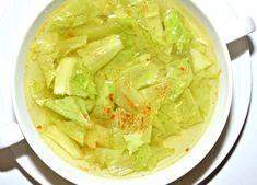 Очищающий суп из китайской капусты ...