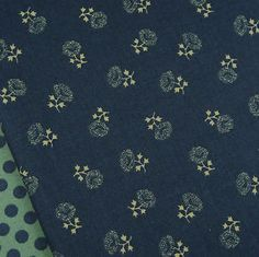 sprigged prints | Moda, Collections Love navy flower sprig fabric / quilt floral antique patchwork | eBay