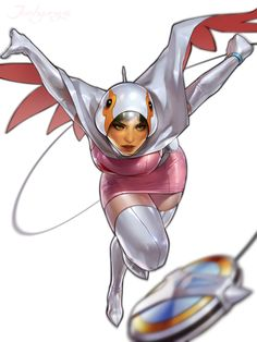 Gatchaman – fan art by JeeHyung leeMore Gatchaman fan art on… Comic Character, Character Concept, Character Design, Cartoon Cartoon, Comic Books Art, Comic Art, Manga Art, Manga Anime, Illustration Manga