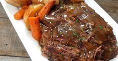 "The Slow Cooker ""Melt In Your Mouth"" Pot Roast That's SO EASY And Delicious"