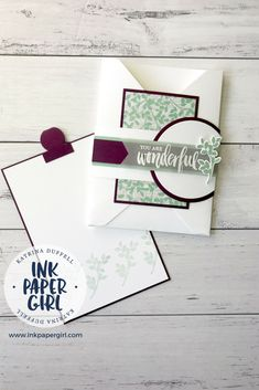 Stampin' Up! Rooted