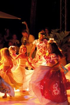 Sega Dance - Mauritian Culture at La Pirogue Resort & Spa, Mauritius