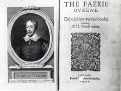 Edmund Spenser, The Faerie Queene, Shakespeare Portrait, First Folio, Title Page, Book Publishing, Faeries, Author, Books, Libros, Fairies