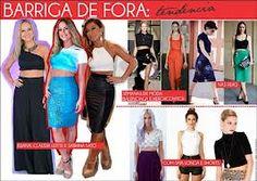 moda 2013 barriga de fora