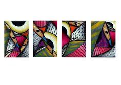 Serie de abstracción.