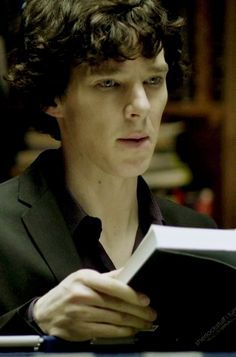 #Sherlock with books!