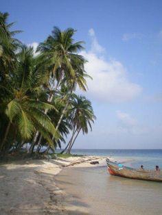 One of many San Blas Islands  - Panama