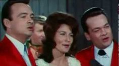 """The Wilburn Brothers and Loretta Lynn sing """"The Opry on Christmas Night."""" From the movie """"Nashville Rebel. Country Christmas Music, Country Music Stars, Loretta Lynn, Grand Ole Opry, Music Charts, Christmas Night, Dolly Parton, Good Ol, Nashville"""