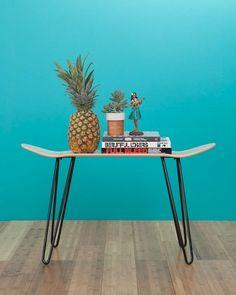 Hairpin legs DIY skateboard table
