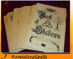 Spell Book of Shadows 540 Parch Pgs Spells Rituals Wicca Pagan Real Spells, Luck Spells, Magic Spells, Pagan Witchcraft, Magick, Holy Water Recipe, Magic Spell Book, Banishing Spell, Healing Spells