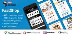 FastShop - Amazing WooCommerce WordPress Theme (RTL Supported) - WooCommerce eCommerce