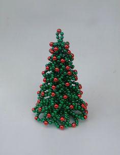 Christmas Tree Table Christmas Tree Beaded by FlorenHandicrafts, $30.00