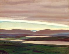 Rockwell Kent (American, 1882-1971), Salmon Waters, Ireland, 1926-27. Oil on panel, 16 x 20 in.