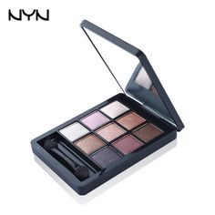 NYN Hobby Color Eye Shadow Glitter Eyeshadow Palette http://www.aliexpress.com/store/product/NYN-Brand-Hobby-Color-Eye-Shadow-9-Colors-Fine-Silty-Paleta-De-Sombra-Smooth-Glitter-Three/1395280_32657583336.html