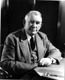 Alben W. Barkley from Graves County, Kentucky, a lawyer and politician who served in both houses of Congress and as the 35th Vice President of the United States from 1949 to 1953