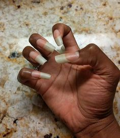 Long Natural Nails, Long Nails, Nail Growth, Nails Only, Instagram Repost, Trendy Nails, Nail Inspo, Manicures, Makeup Looks