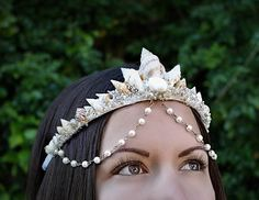 Seashell Crown mermaid crown mermaid tiara festival crown
