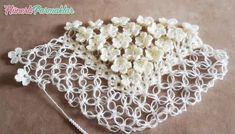 İNCİ ÇİÇEKLİ ŞAL YAPIMI#moda #hobi #hobby #elişi #kadın #orgu #knitting Crochet Snood, Crochet Gifts, Crochet Motif, Diy Crochet, Knitting Blogs, Lace Knitting, Lace Patterns, Crochet Patterns, Iphone Wallpaper Inspirational