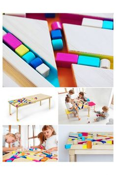 Bawa Kids – Modern Play Table – Double Duty Kids Furniture | Small for Big