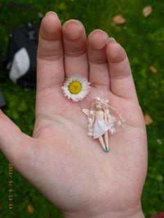 Custom Miniature Fairy OOAK Art Doll