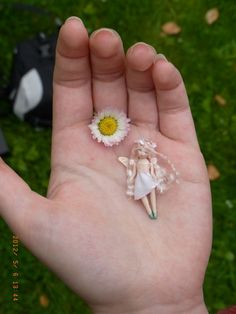 Custom Miniature Fairy OOAK Art Doll