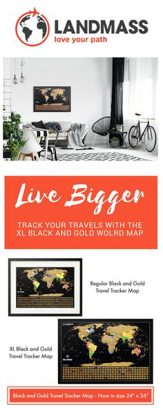Get the Landmass XL Travel Tracker map and tell your stories in even bigger, more precise design. This map is perfect for the travel lover in your life. Scratch off the gold foil to reveal bold, vibrant colors and inspire the next adventure! Valentine Day Gifts, Valentines, World Map Poster, Scratch Off, Travel Maps, Travel Gifts, Gold Foil, Boyfriend Gifts, Adventure Travel