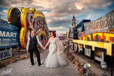 The Neon Museum Elopement Wedding (Amy & Adam) - Las Vegas Event and Wedding Photographer, Neon Museum Wedding Photos, Vegas wedding, Las Vegas Wedding Photographer Las Vegas Wedding Photographers, Las Vegas Weddings, Elopement Wedding, Elope Wedding, Neon Museum, Museum Wedding, Las Vegas Strip, Amy, Wedding Photos