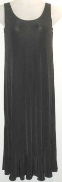 """Black Chico's Traveler's Maxi Dress. This Black maxi dress by Chico's was voted a """"Top 10 Favorite"""" by Tradesy members."""