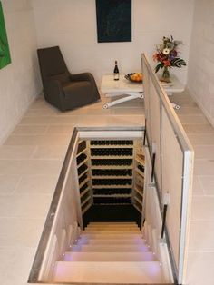 Interior: Trap Door Design Pictures Remodel Decor And Ideas House Pertaining To Trap Door Design Prepare from trap door design intended for Invigorate Door Design, House Design, Glass Design, Basement Doors, Basement Storage, Basement Remodeling, Remodeling Ideas, Hidden Spaces, Safe Room