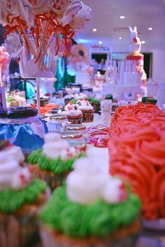Cumpleaños de 15 ambientado con la temática ALICIA EN EL PAIS DE LAS MARAVILLAS. #aliceinwonderlan #15años #temática